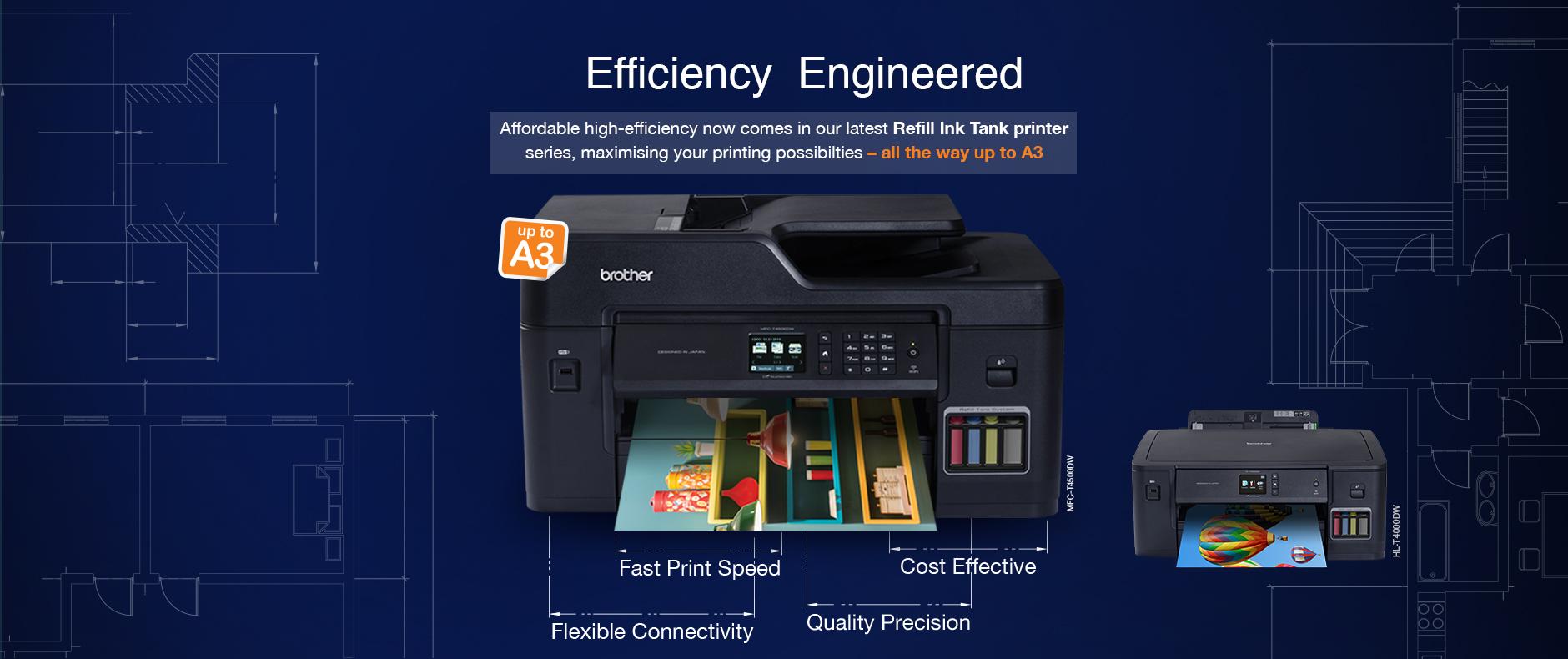 Printer Wireless dari Brother untuk Kebutuhan Kantor dan Pribadi