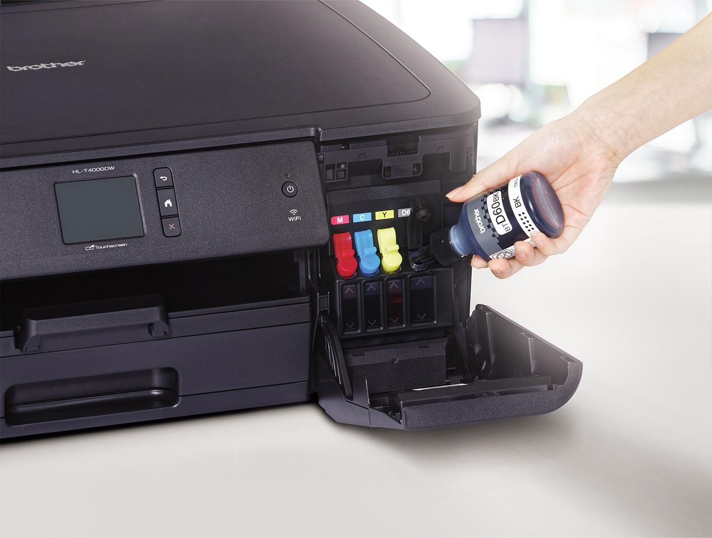 Isi Ulang Mudah dengan Printer Ink Tank dari Brother M