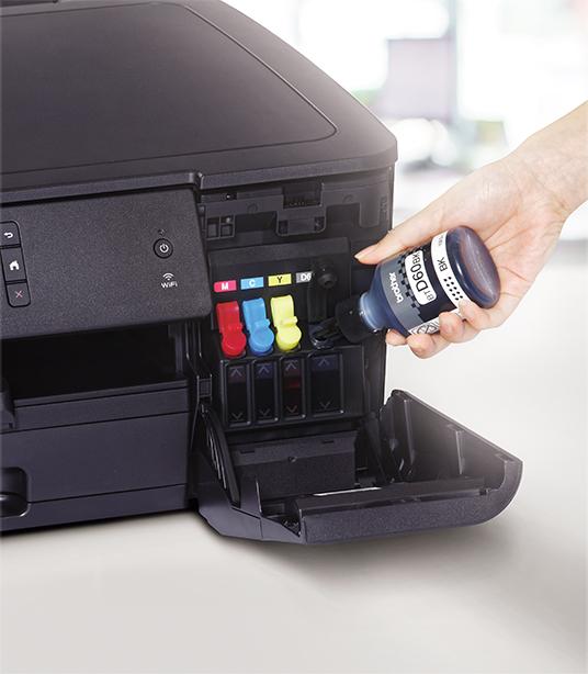 Isi Ulang Mudah dengan Printer Ink Tank dari Brother D