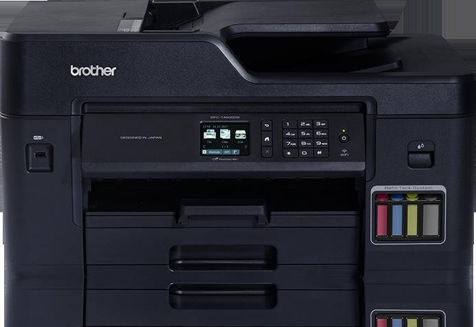 MFC-T4500DW Printer Refill Ink Tank Multifungsi dari Brother