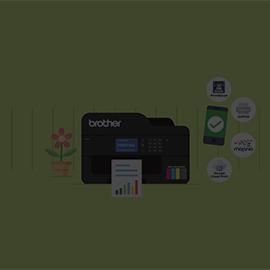 Konektivitas Fleksibel dengan Printer Refill Ink Tank dari Brother