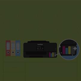 Desain dan biaya Efektif dengan Printer Refill Ink Tank dari Brother