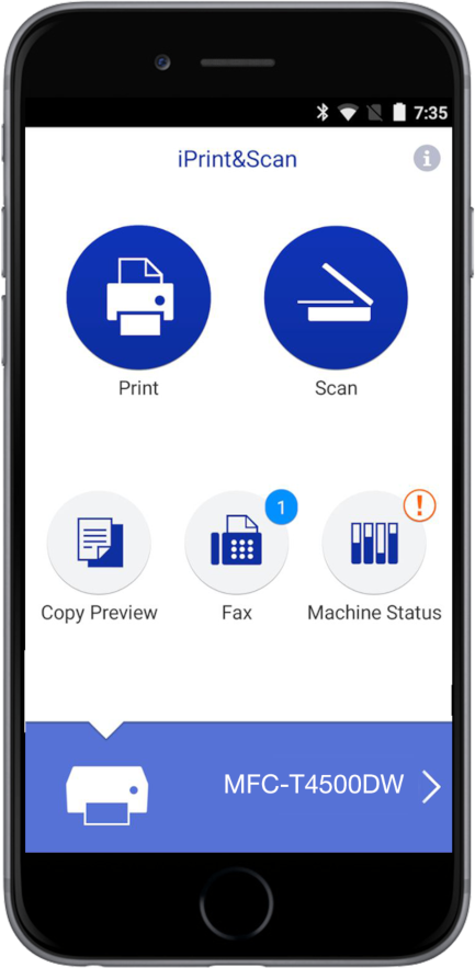 Brother iPrint&Scan application