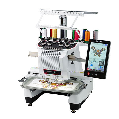 PR1050X embroidery sewing machine