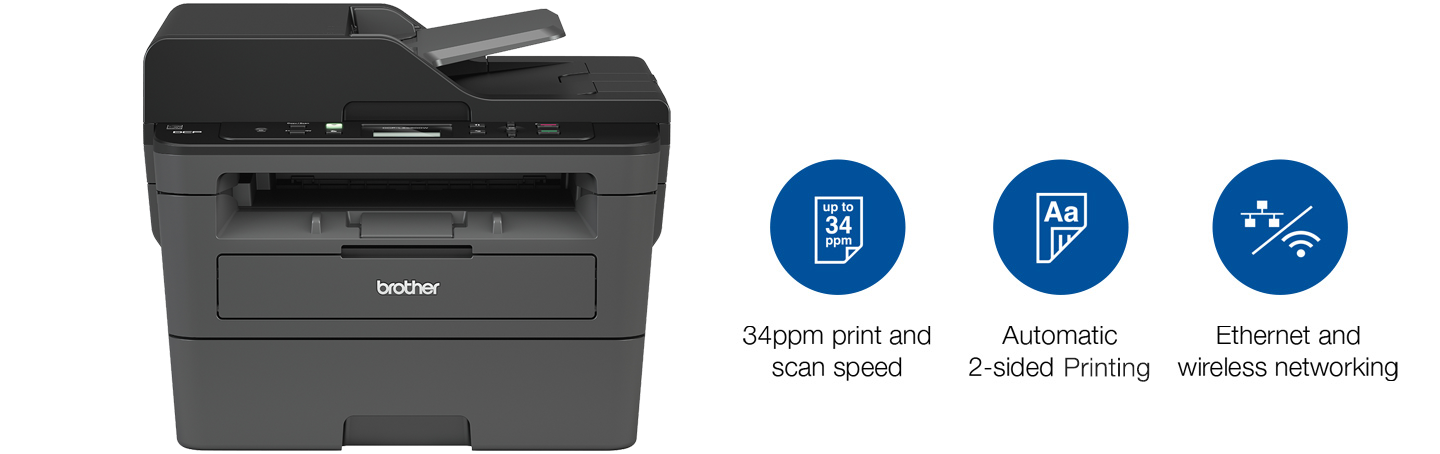 Brother DCP-L2550DW Printer and Features