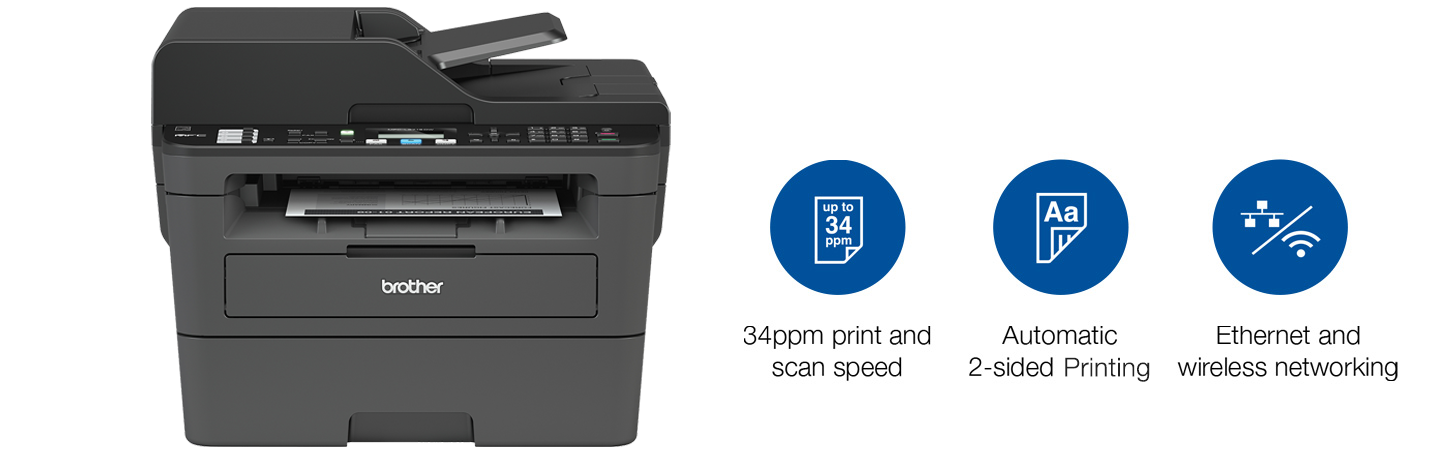 Brother HL-L2715DW Printer and Features