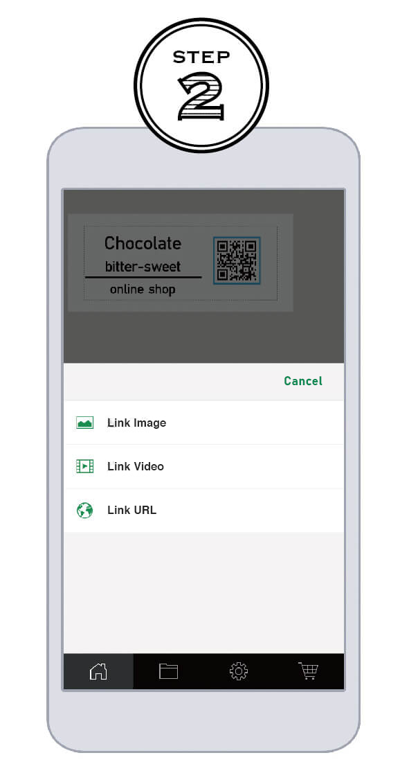 Create your own「QR Code」for instant sharing