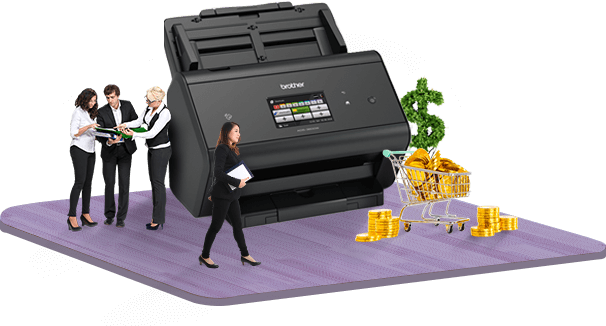 Brother printer for finance and billing invoice