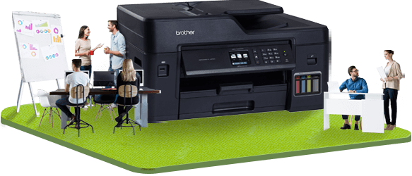 Brother A3 printer for marketing displays